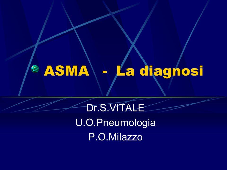 Dr.S.VITALE U.O.Pneumologia P.O.Milazzo