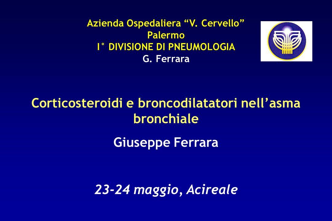 Corticosteroidi e broncodilatatori nell'asma bronchiale