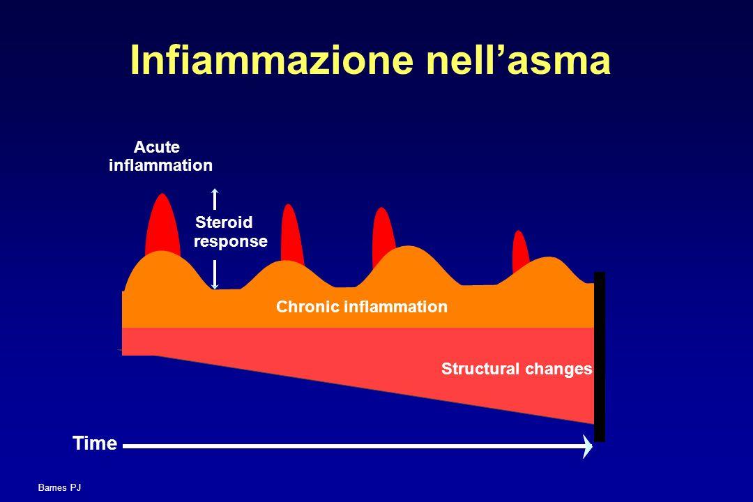 Infiammazione nell'asma