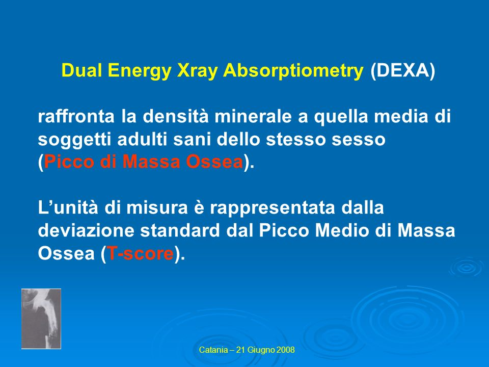 Dual Energy Xray Absorptiometry (DEXA)