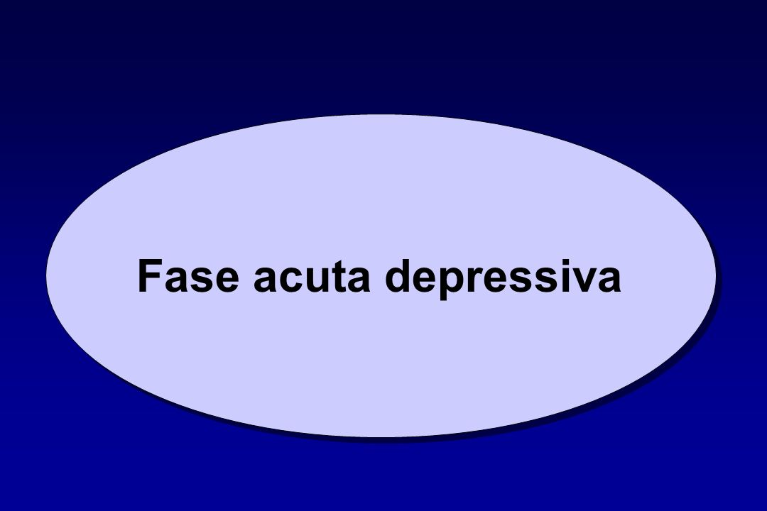 Fase acuta depressiva