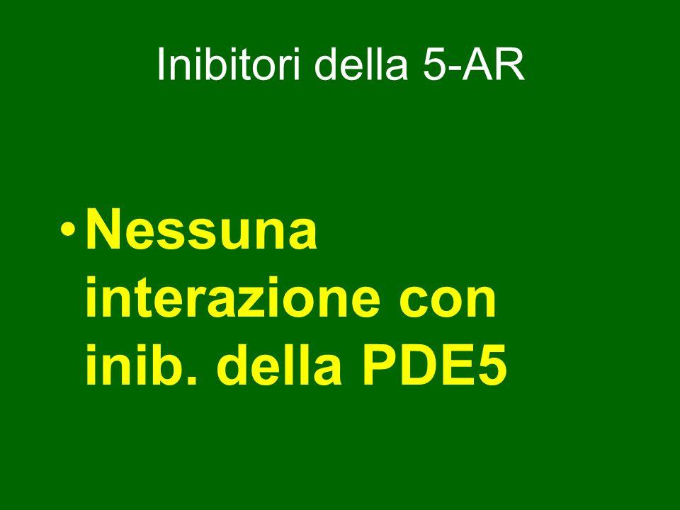 Nessuna interazione con inib. della PDE5