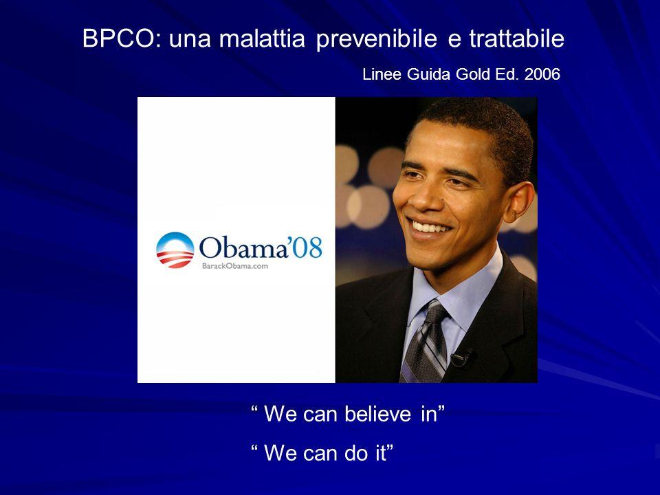 BPCO: una malattia prevenibile e trattabile