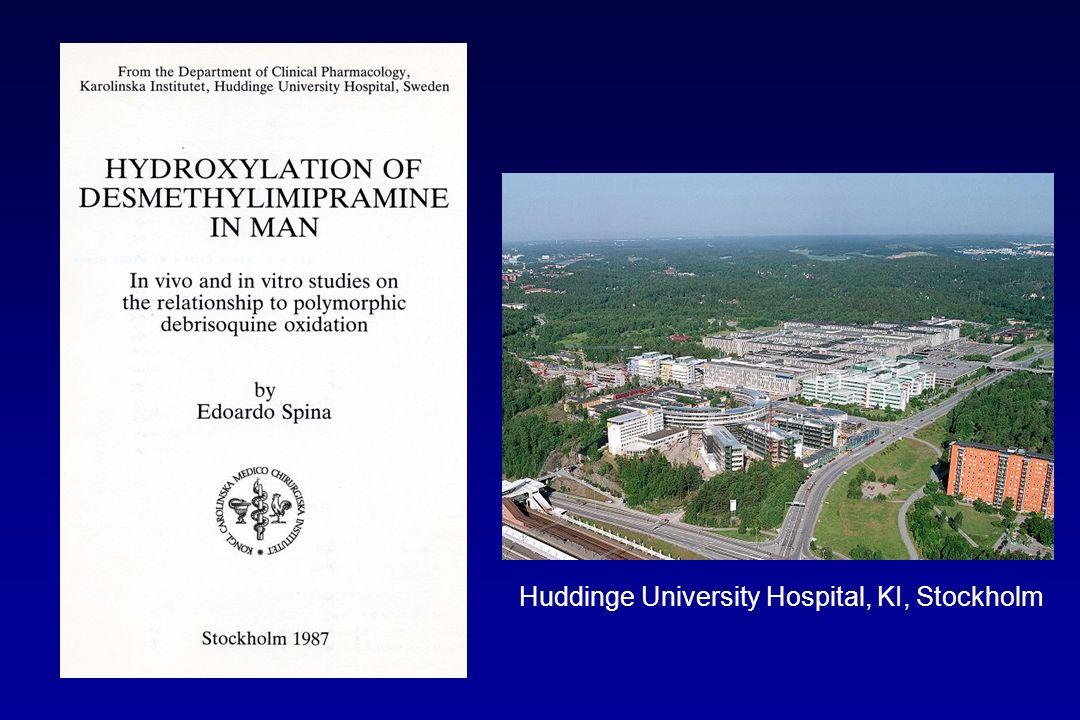 Huddinge University Hospital, KI, Stockholm