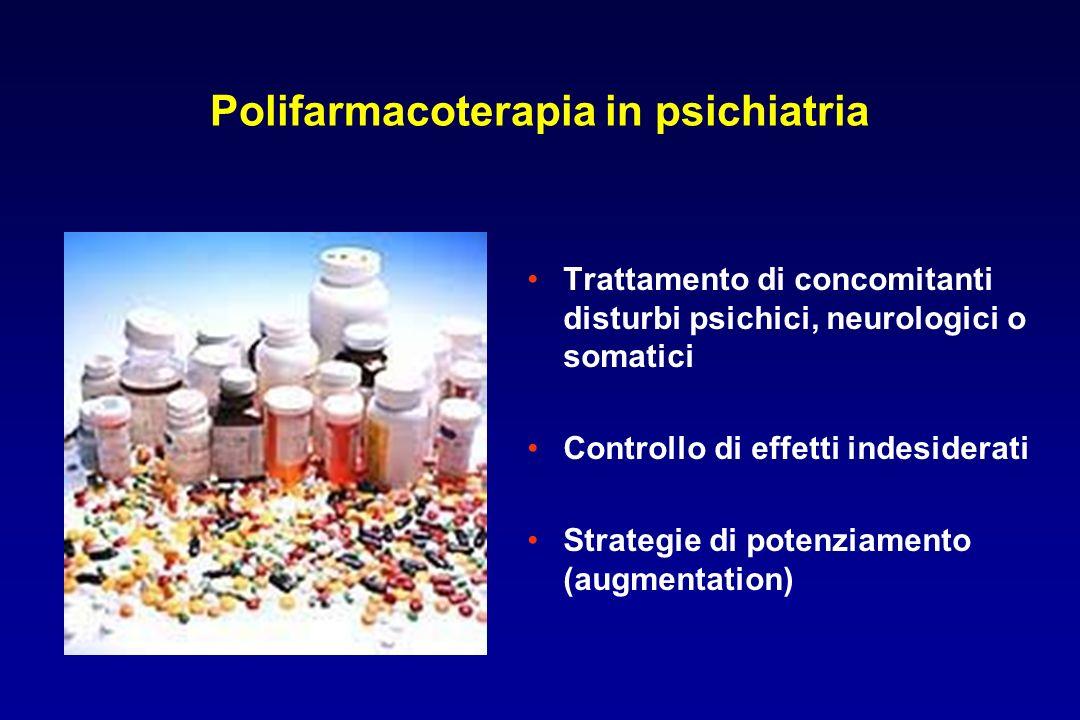Polifarmacoterapia in psichiatria