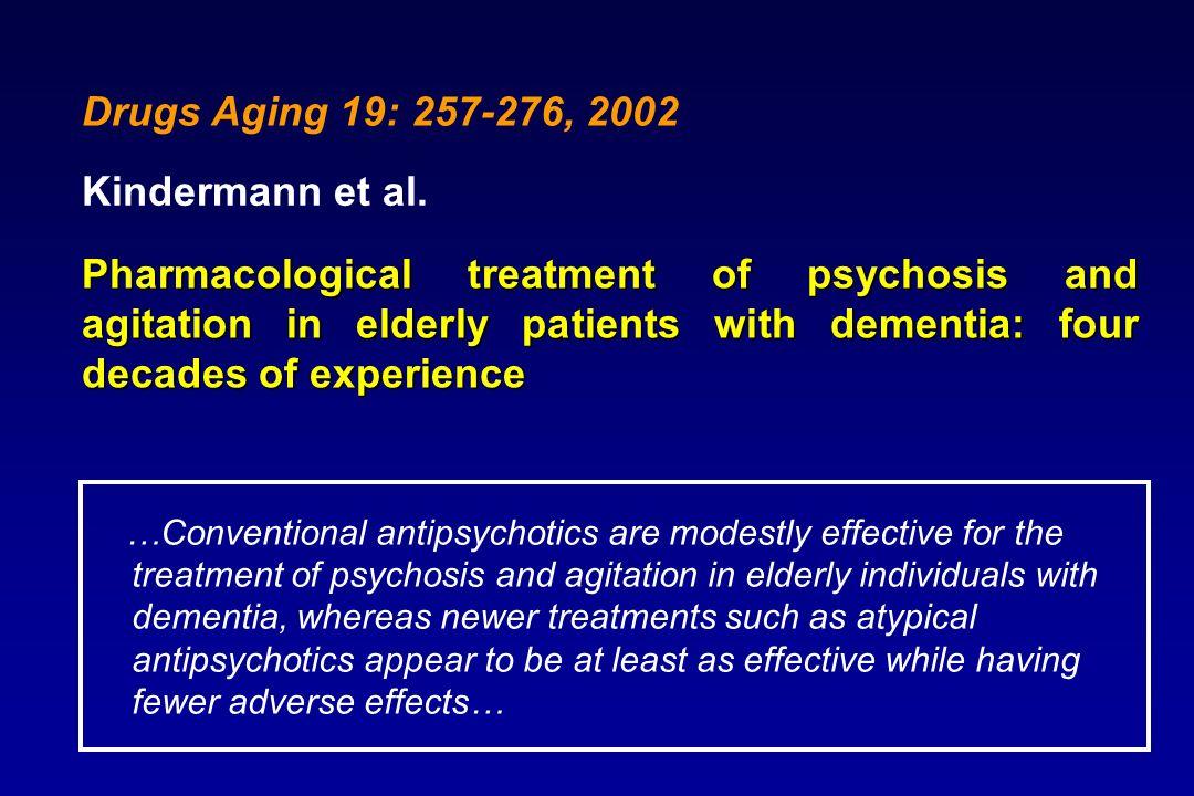 Drugs Aging 19: 257-276, 2002 Kindermann et al.