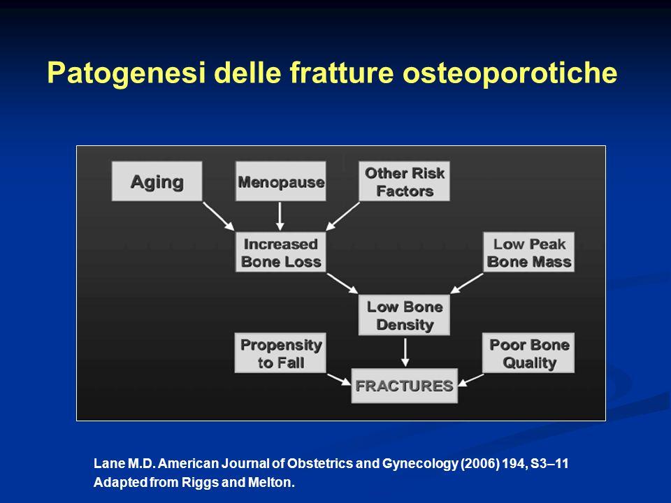 Patogenesi delle fratture osteoporotiche