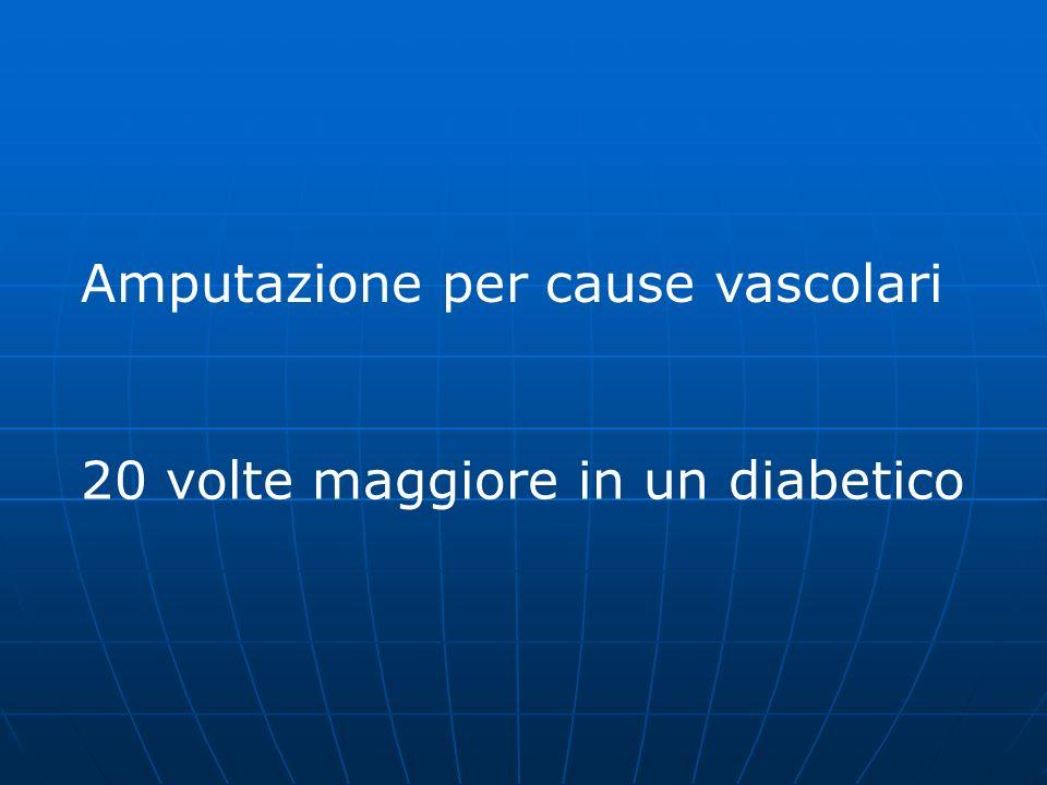 Amputazione per cause vascolari