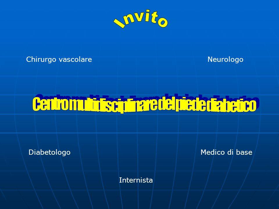 Centro multidisciplinare del piede diabetico