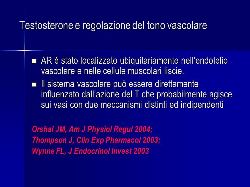 Testosterone e regolazione del tono vascolare