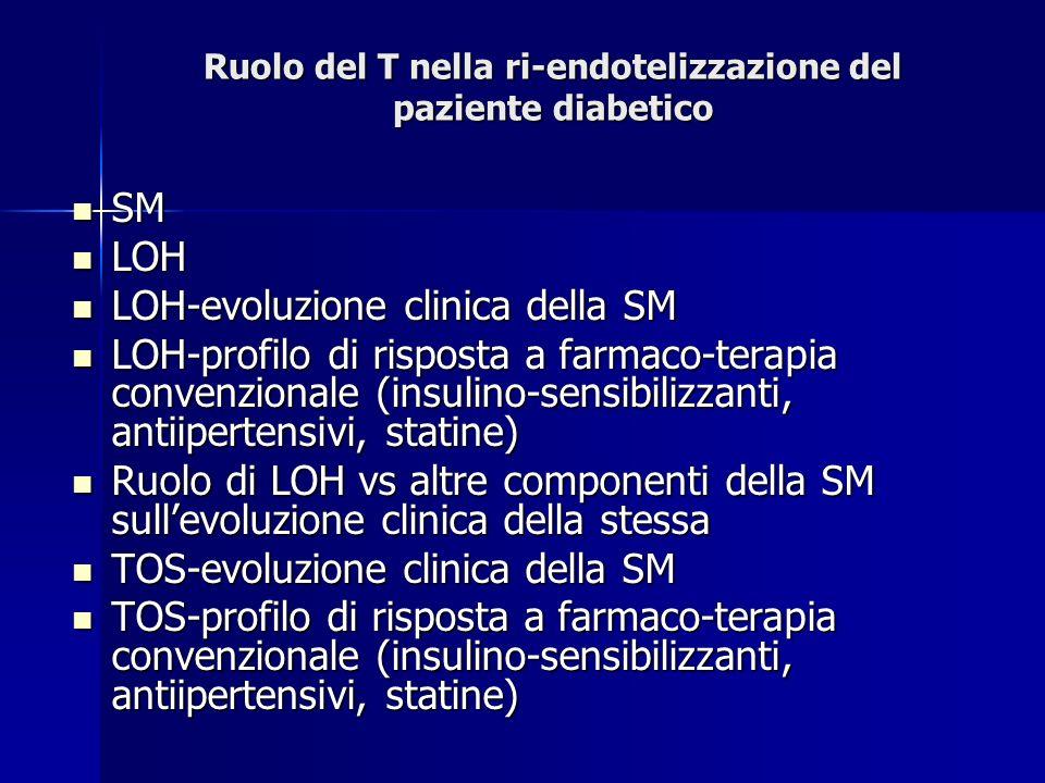 Ruolo del T nella ri-endotelizzazione del paziente diabetico