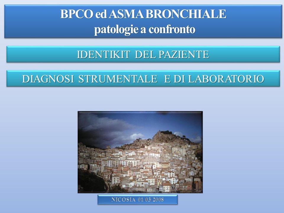 BPCO ed ASMA BRONCHIALE