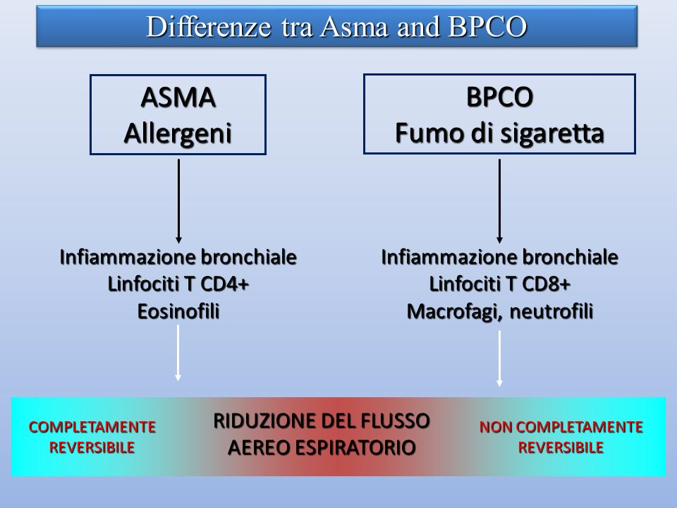 Differenze tra Asma and BPCO