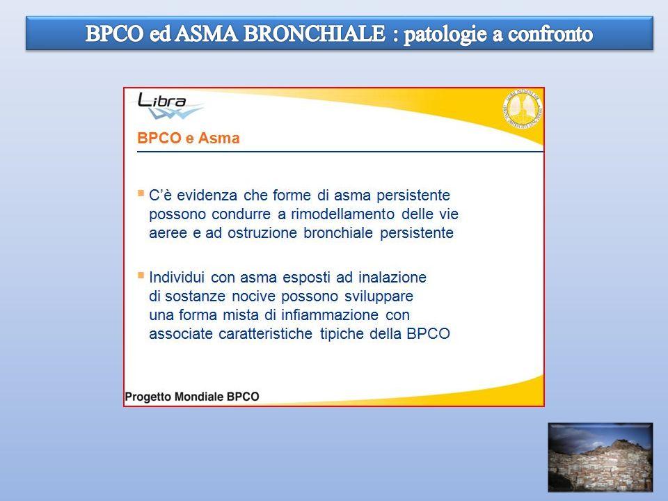BPCO ed ASMA BRONCHIALE : patologie a confronto