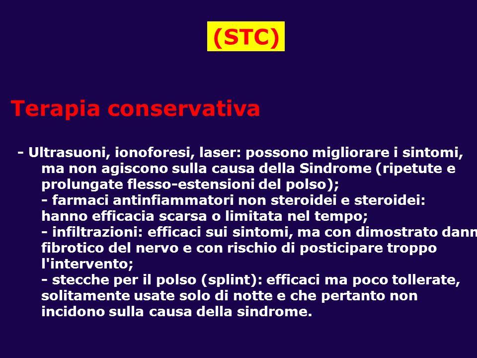 (STC) Terapia conservativa