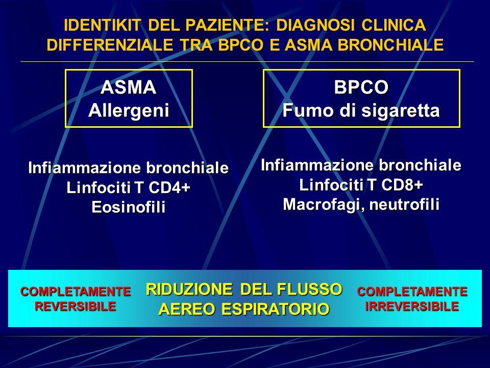ASMA Allergeni BPCO Fumo di sigaretta