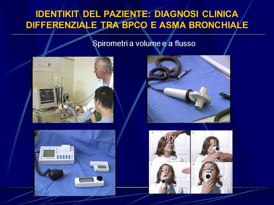 Spirometri a volume e a flusso