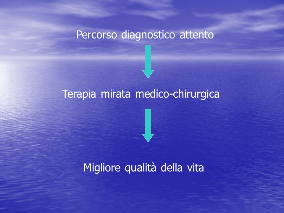 Percorso diagnostico attento