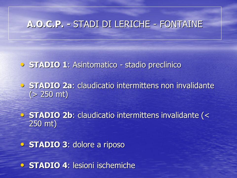 A.O.C.P. - STADI DI LERICHE - FONTAINE