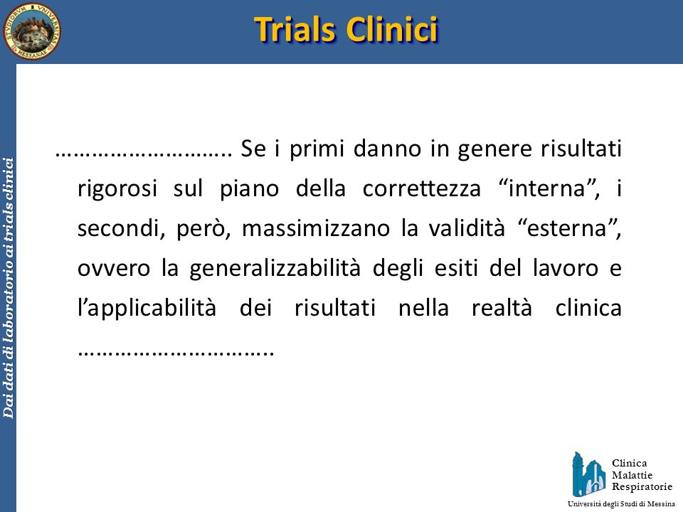 Trials Clinici
