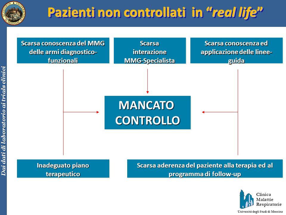 Pazienti non controllati in real life