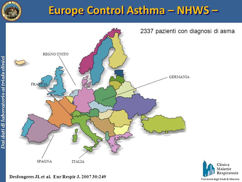 Europe Control Asthma – NHWS –