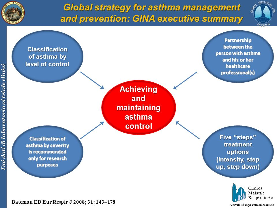 Global strategy for asthma management