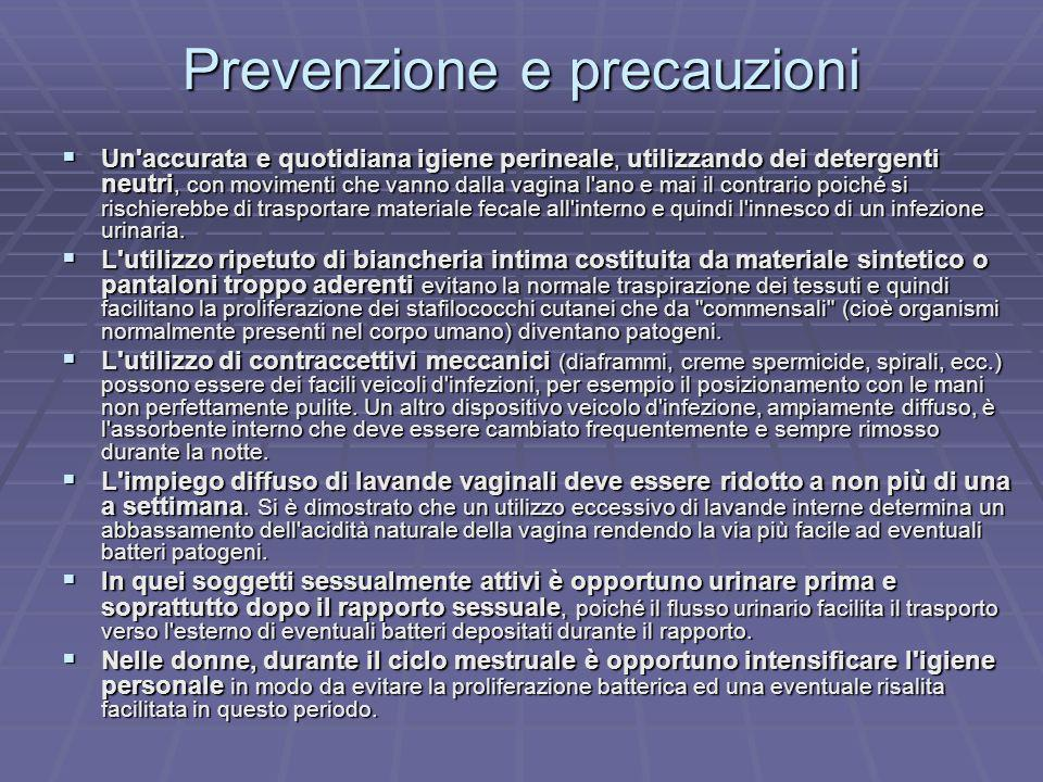Prevenzione e precauzioni