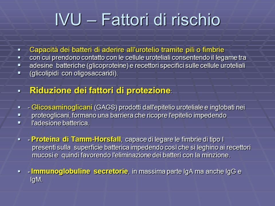 IVU – Fattori di rischio