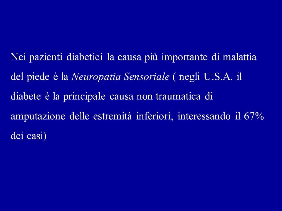 Nei pazienti diabetici la causa più importante di malattia