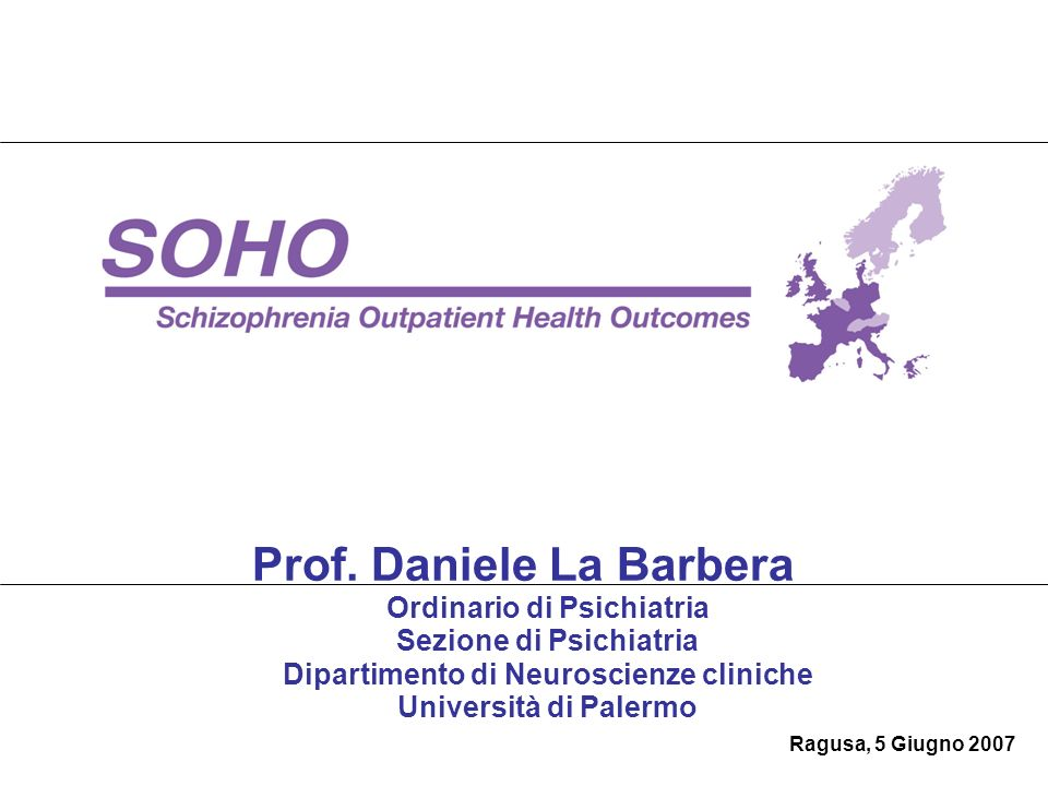 Prof. Daniele La Barbera