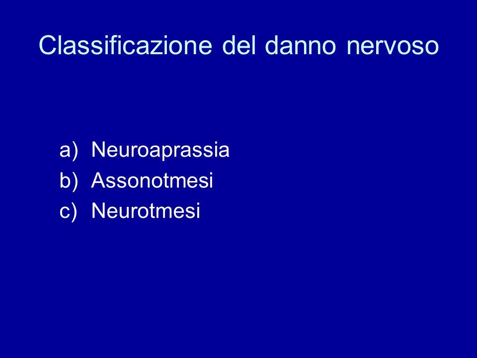 Classificazione del danno nervoso