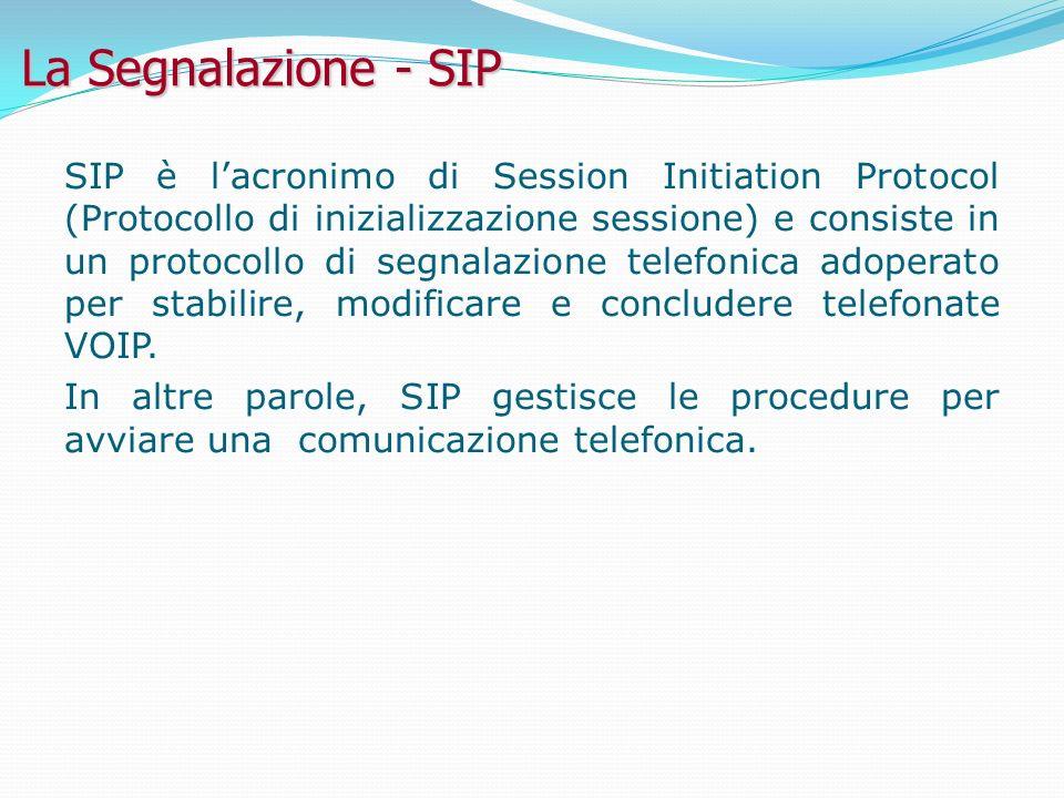 La Segnalazione - SIP