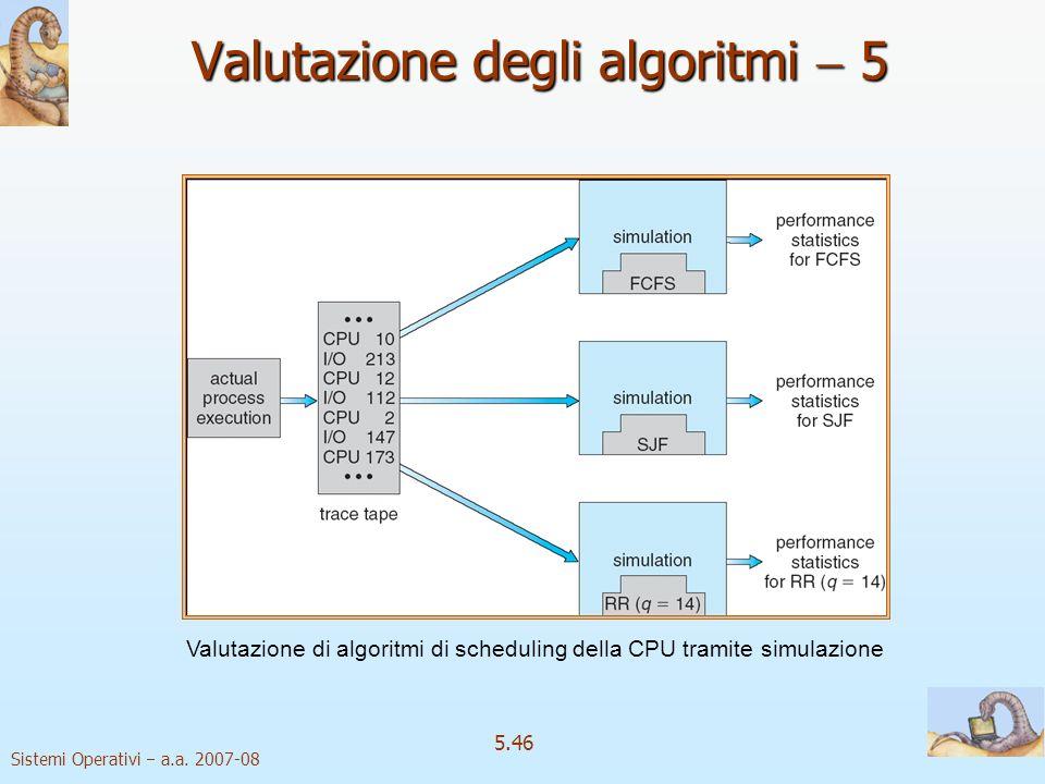 Valutazione degli algoritmi  5