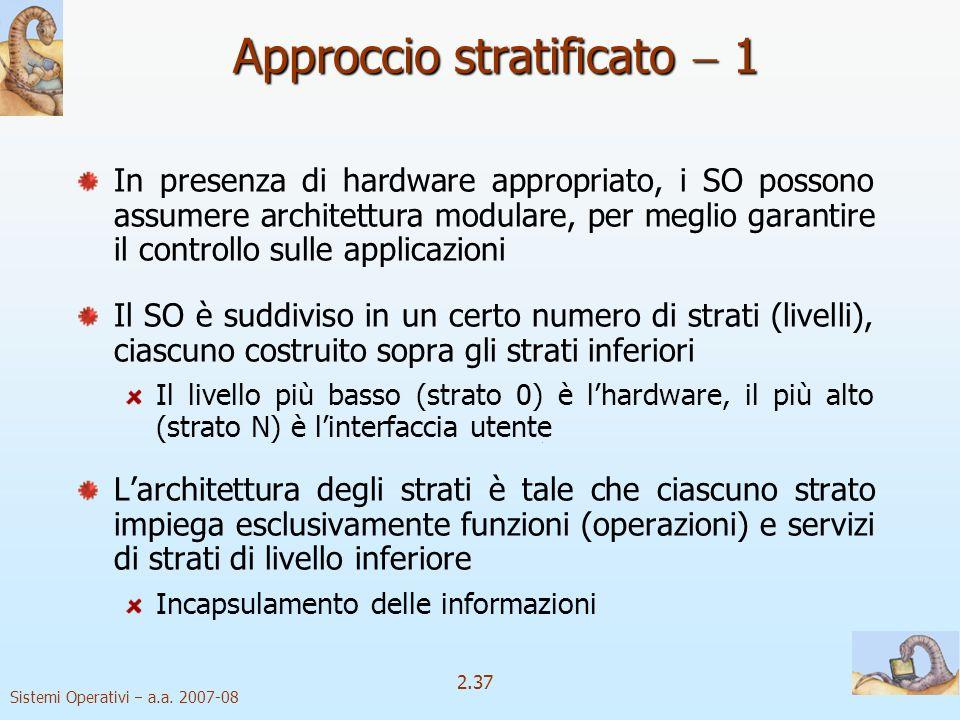 Approccio stratificato  1