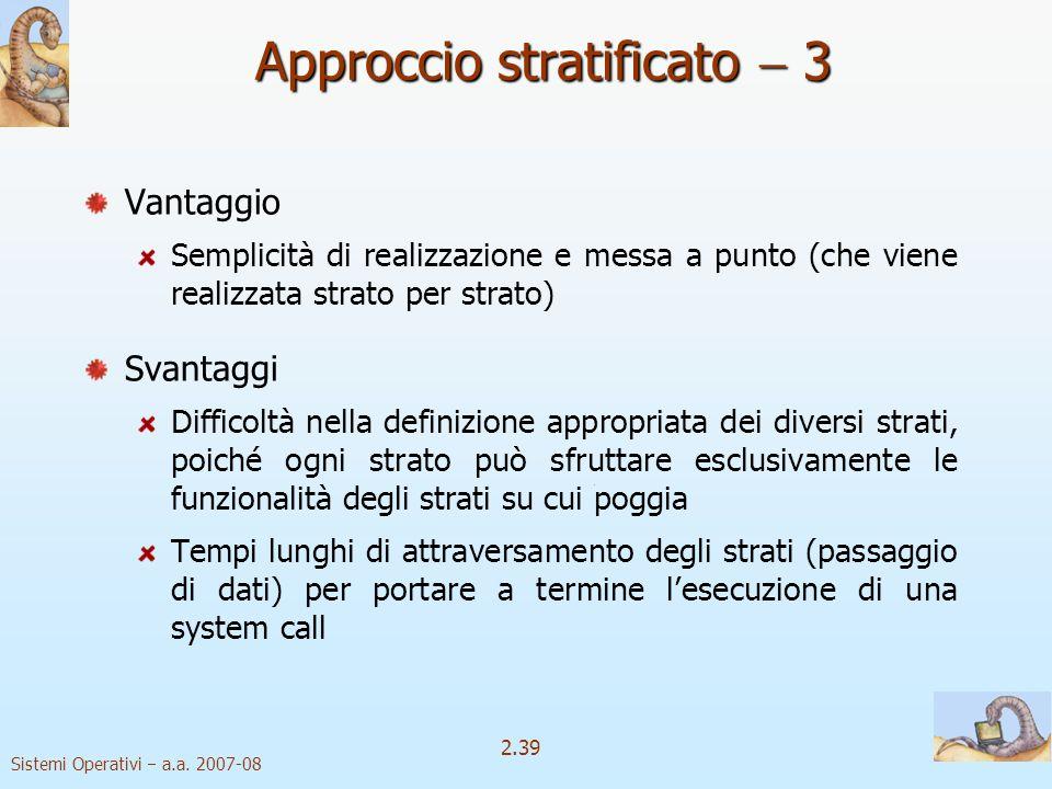 Approccio stratificato  3