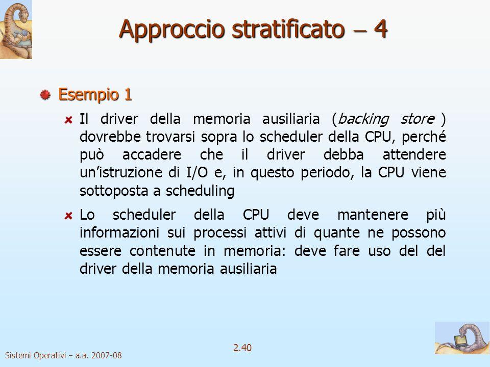 Approccio stratificato  4