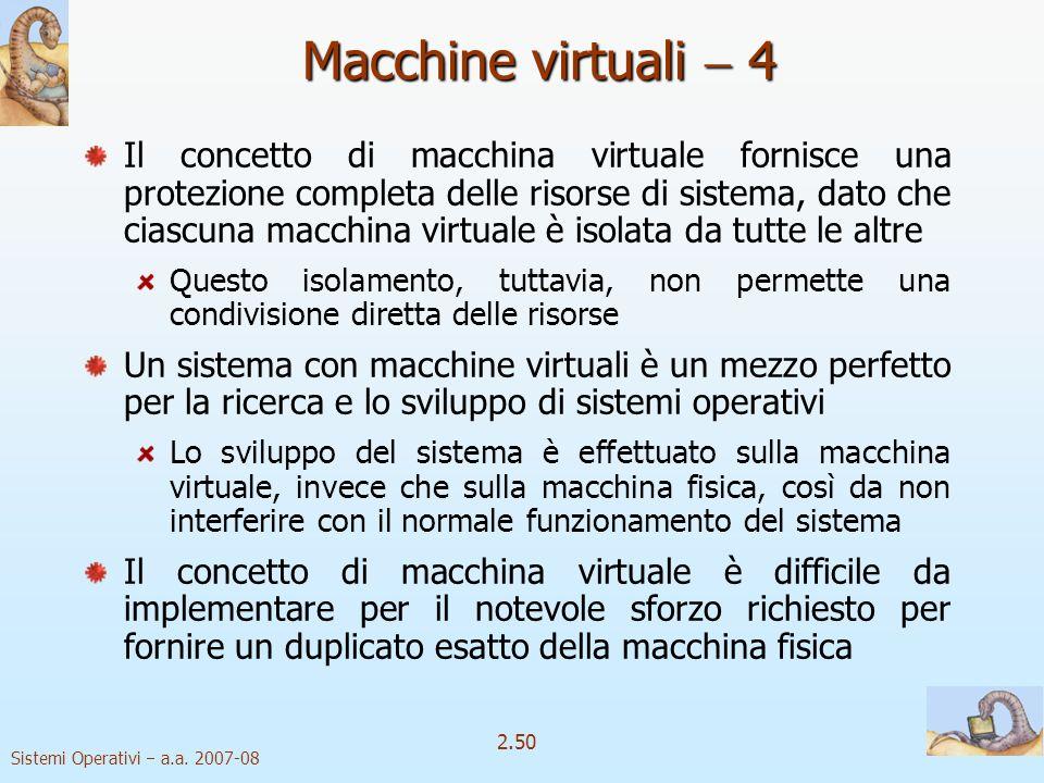 Macchine virtuali  4