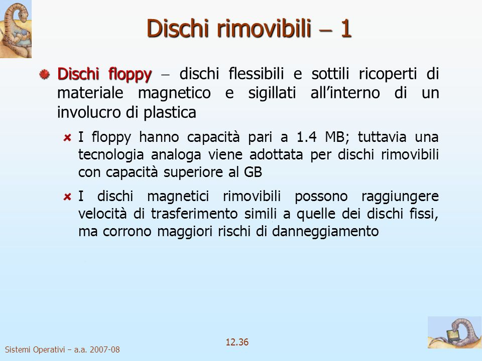 Dischi rimovibili  1
