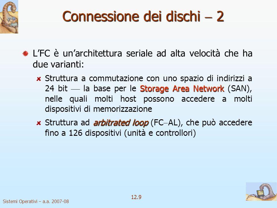 Connessione dei dischi  2