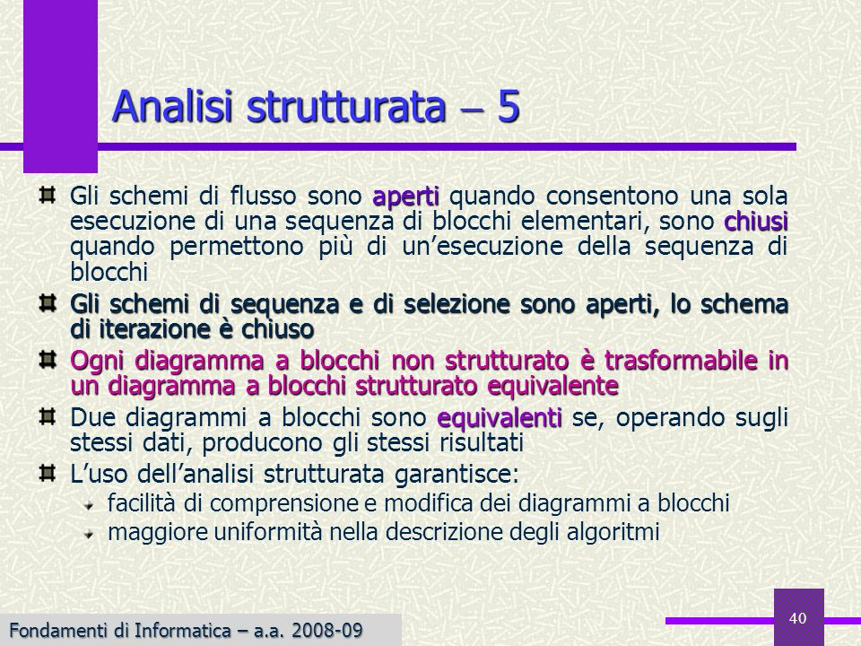 Analisi strutturata  5