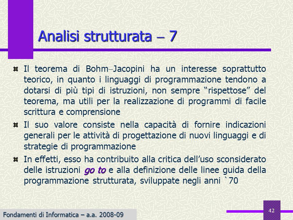 Analisi strutturata  7