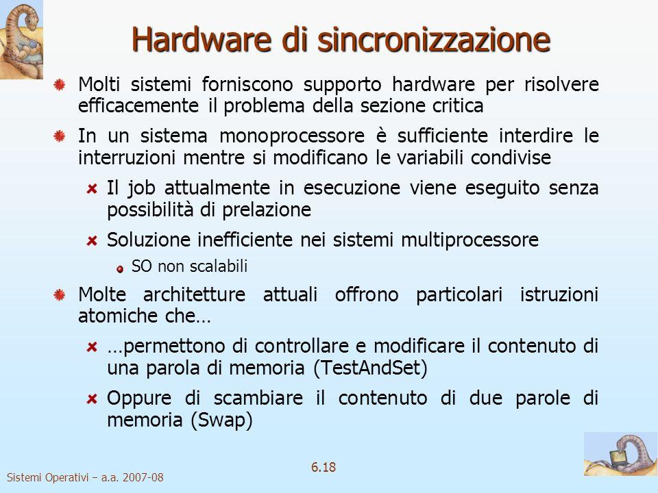 Hardware di sincronizzazione