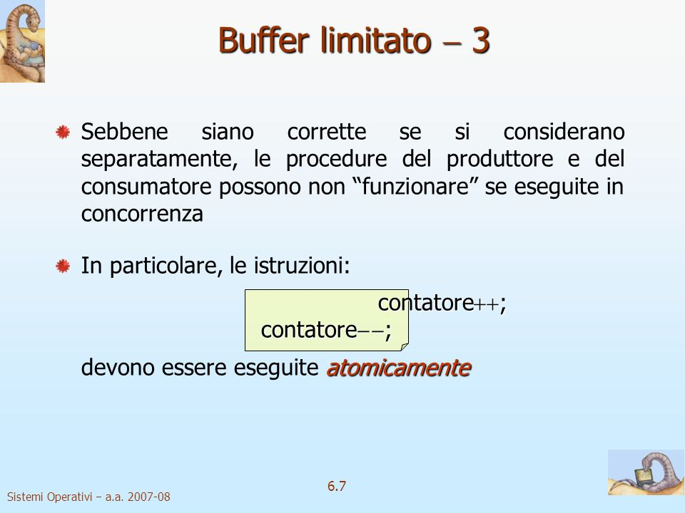 Buffer limitato  3