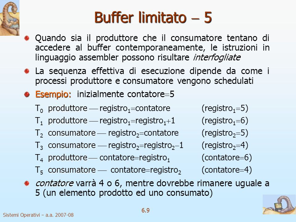 Buffer limitato  5