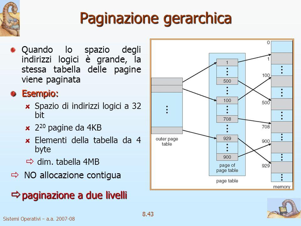 Paginazione gerarchica