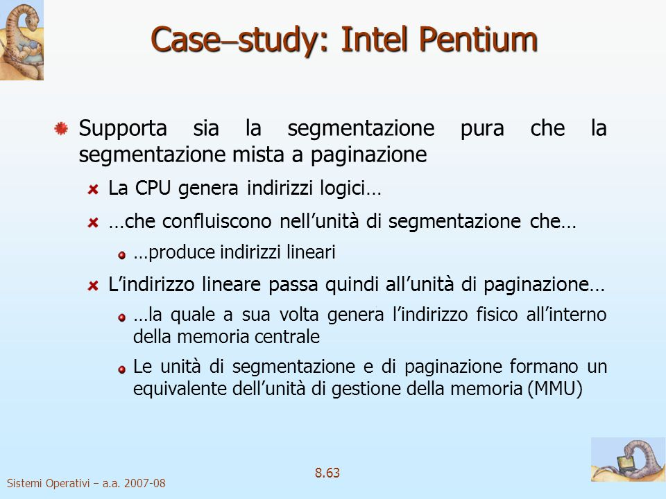 Casestudy: Intel Pentium