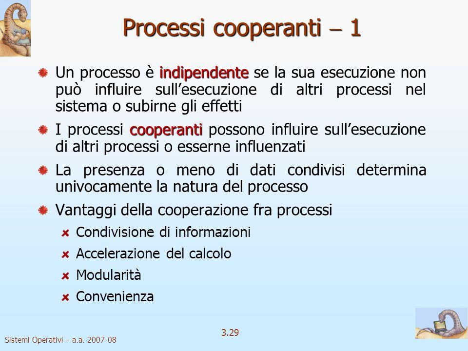 Processi cooperanti  1
