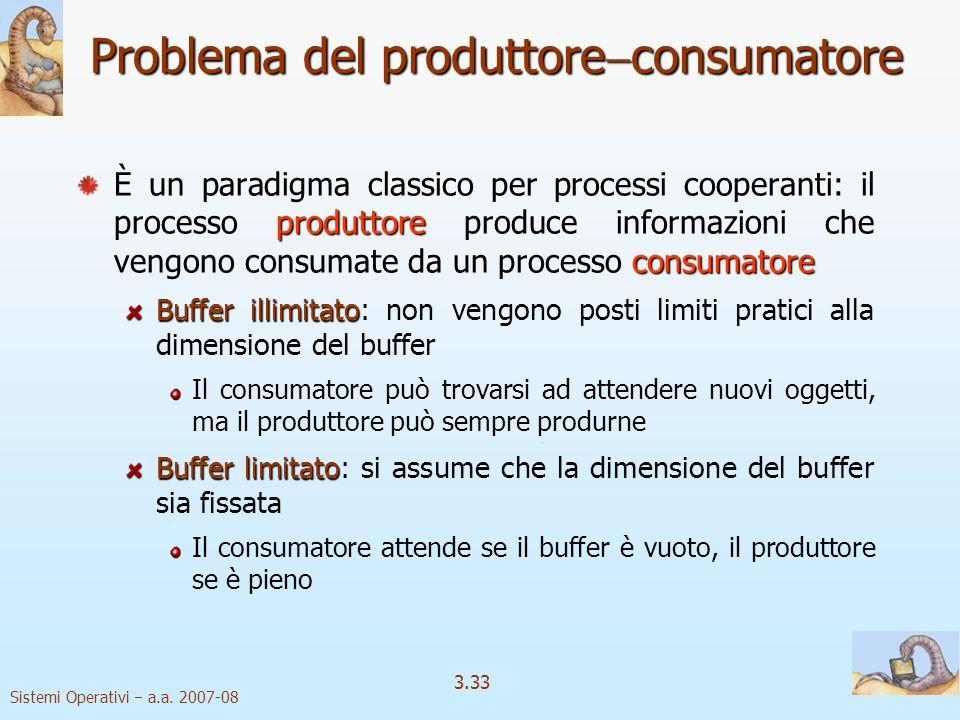 Problema del produttoreconsumatore