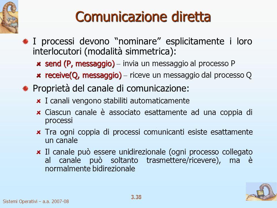 Comunicazione diretta